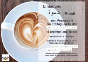 Einladung Frauencafe ohne Datum